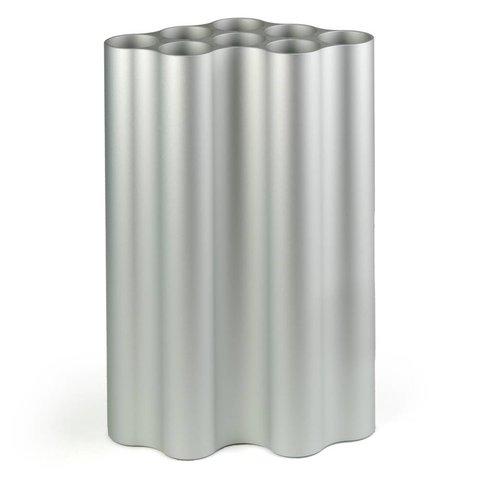 nuage vase | groß, hellsilber