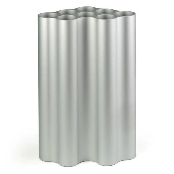 vitra nuage vase | groß, hellsilber -design ronan & erwan bouroullec, 2016
