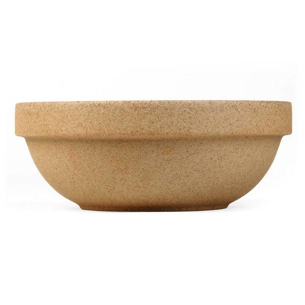 hasami tiefe schale Ø 14,5 cm | sand – design takuhiro shinomoto