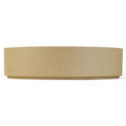 hasami zylindrische schale | Ø 18,5 cm, h 5,5 cm | sand