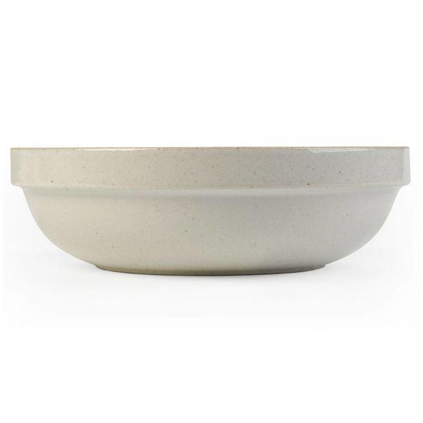 hasami porcelain hasami tiefe schale | Ø 18,5 cm | hellgrau glänzend glasiert – design takuhiro shinomoto