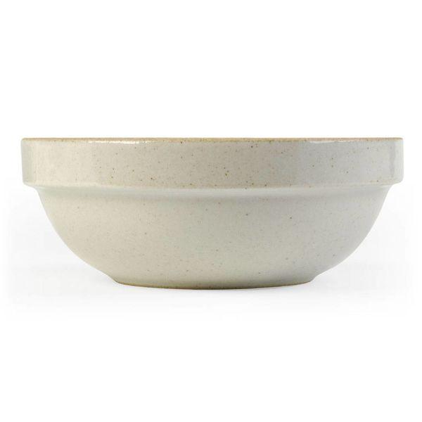 hasami porcelain hasami tiefe schale | Ø 14,5 cm | hellgrau glänzend glasiert – design takuhiro shinomoto