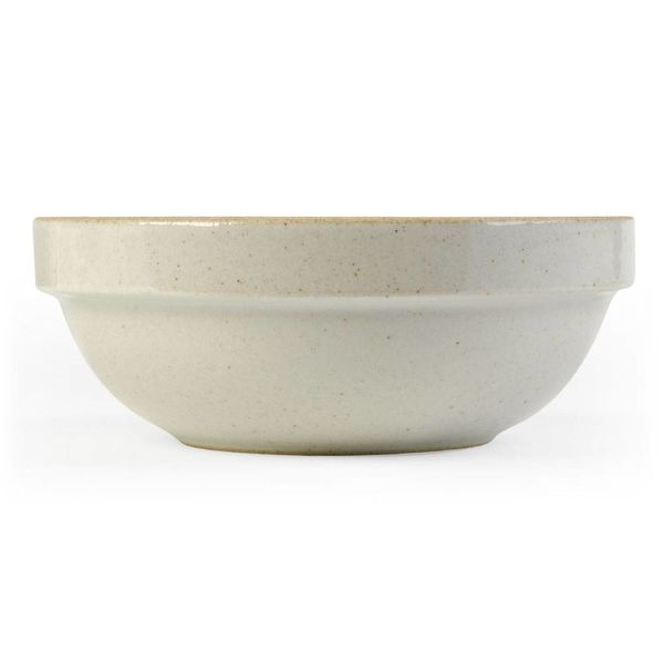 hasami hasami tiefe schale Ø 14,5 cm | hellgrau glasiert – design takuhiro shinomoto