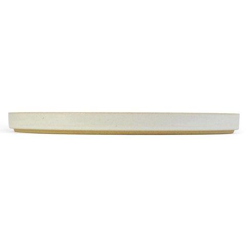 hasami teller/deckel | Ø 25,5 cm | hellgrau glänzend glasiert