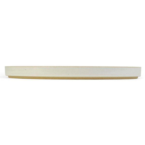 hasami porcelain hasami teller/deckel | Ø 25,5 cm | hellgrau glänzend glasiert – design takuhiro shinomoto