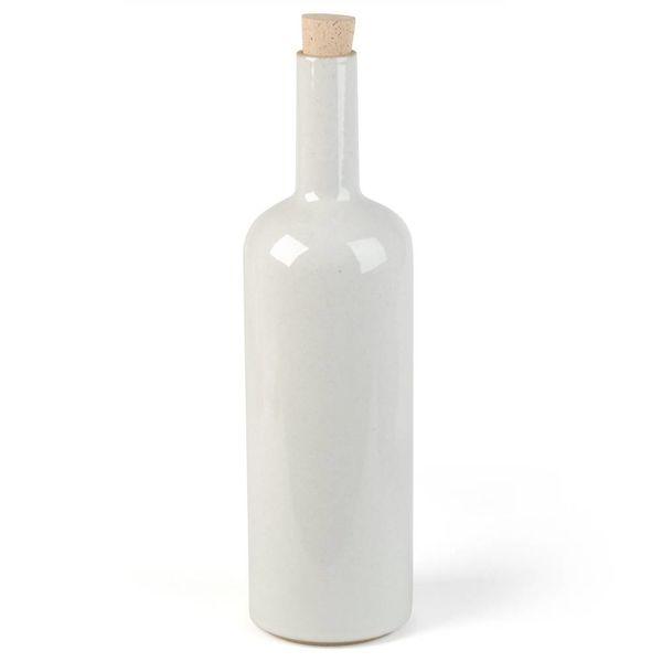 hasami porcelain hasami flasche | hellgrau glänzend glasiert – design takuhiro shinomoto