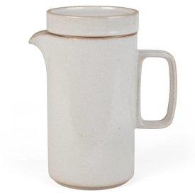 hasami porcelain hasami hohe kanne | hellgrau glänzend glasiert