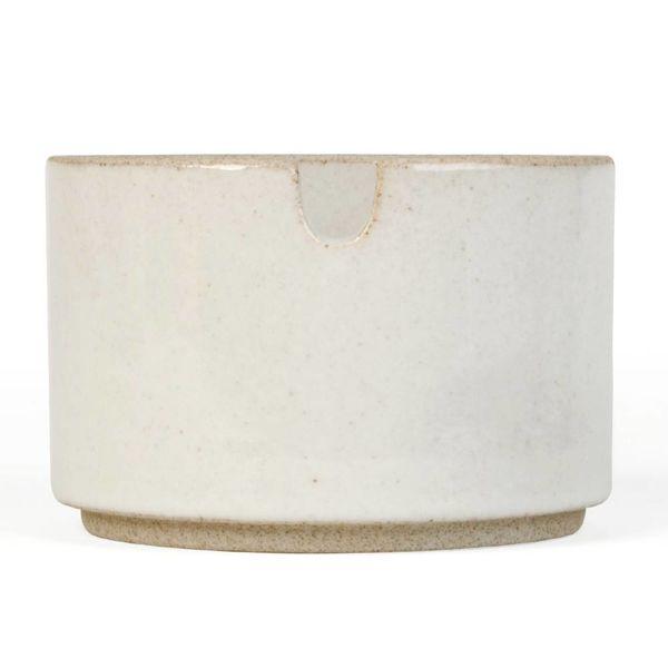 hasami porcelain hasami zucker | hellgrau glänzend glasiert – design takuhiro shinomoto