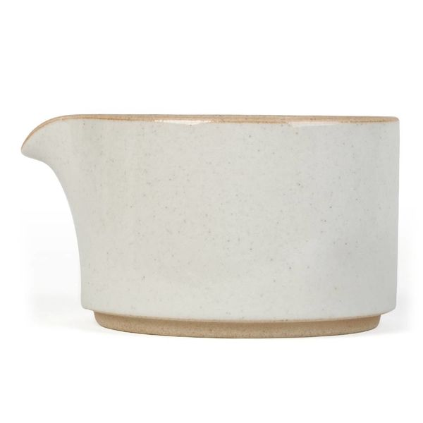 hasami porcelain hasami milchkännchen | hellgrau glänzend glasiert – design takuhiro shinomoto