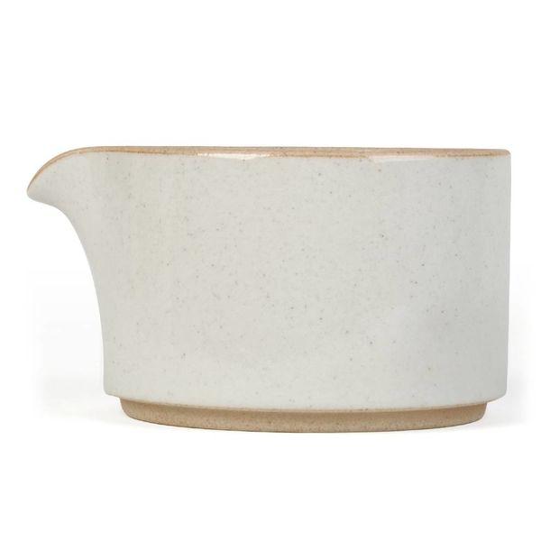 hasami hasami milchkännchen | hellgrau glasiert – design takuhiro shinomoto