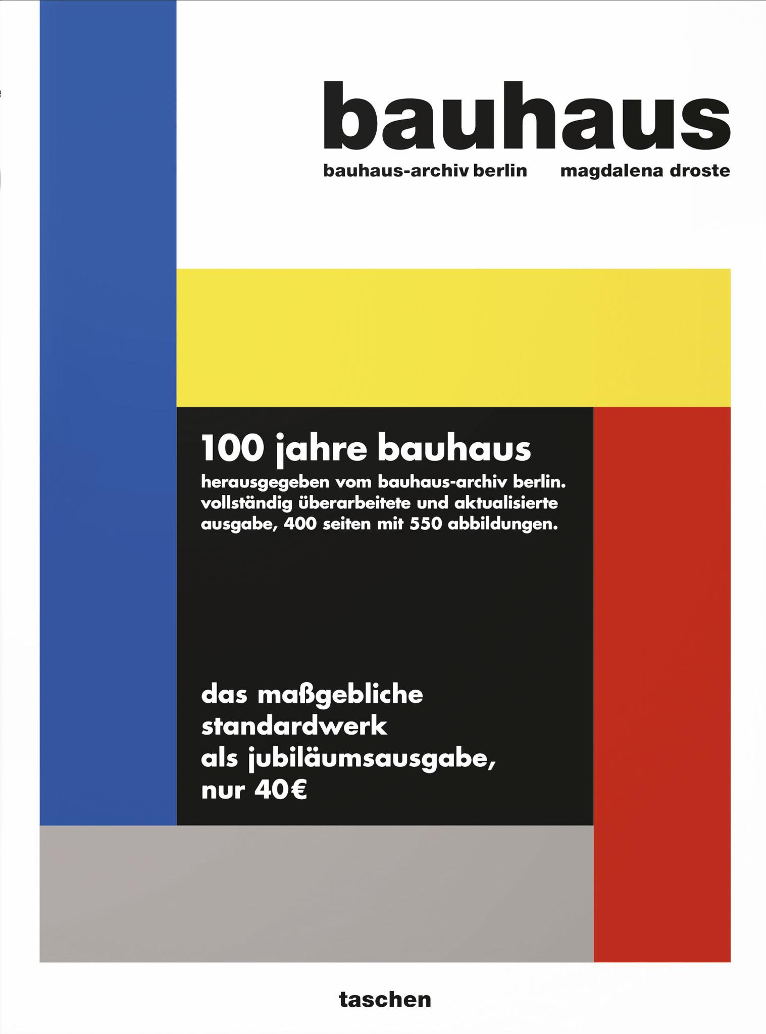 Bauhaus 1919 1933 Aktualisierte Ausgabe Englisch Bauhaus Shop