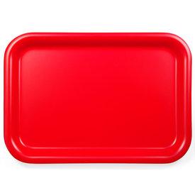 david mellor tablett aus weidensperrholz | rot