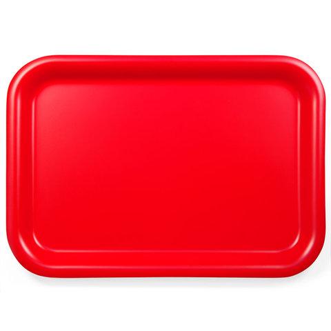 tablett aus weidensperrholz | rot