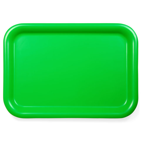 tablett aus weidensperrholz | grün