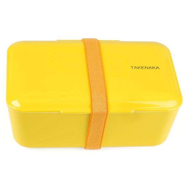 takenaka bento box | einfach, gelb