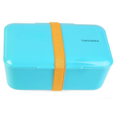 bento box | einfach, hellblau