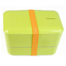 takenaka bento box | doppelt, grün