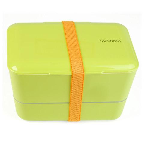 bento box | doppelt, grün