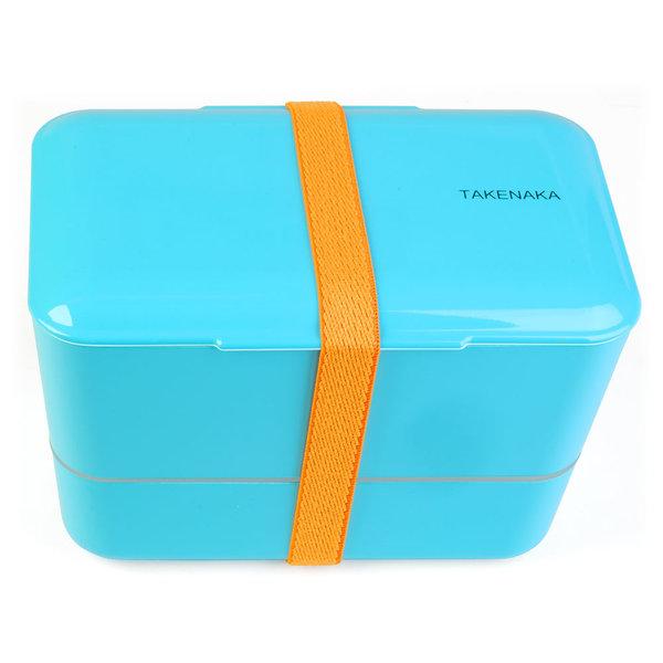 takenaka bento box | doppelt, hellblau