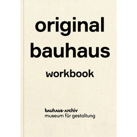 bauhaus-archiv original bauhaus workbook | english