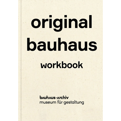 original bauhaus übungsbuch | englisch