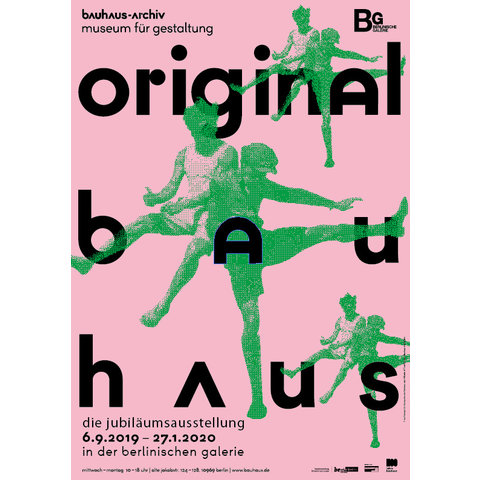 poster original bauhaus | sport