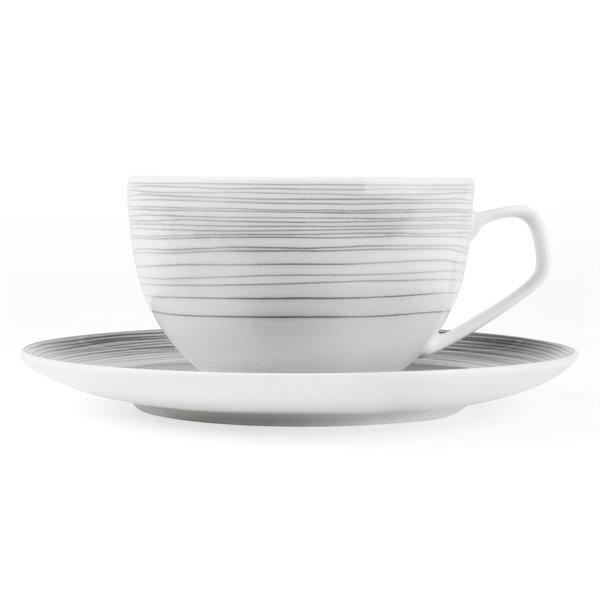rosenthal tac stripes | kombitasse mit untertasse - design walter gropius + k. de sousa
