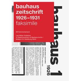 lars müller publishers bauhaus zeitschrift reprint | deutsche ausgabe