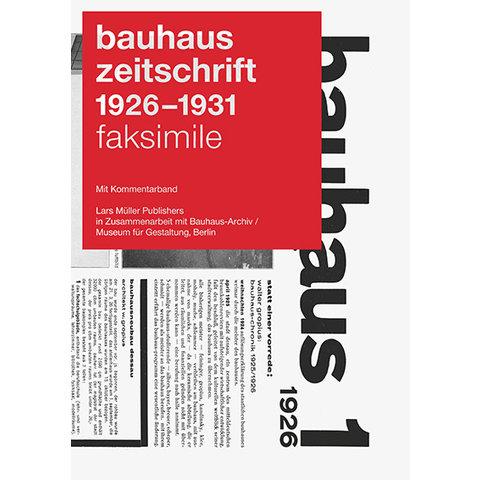 bauhaus zeitschrift reprint | deutsche ausgabe