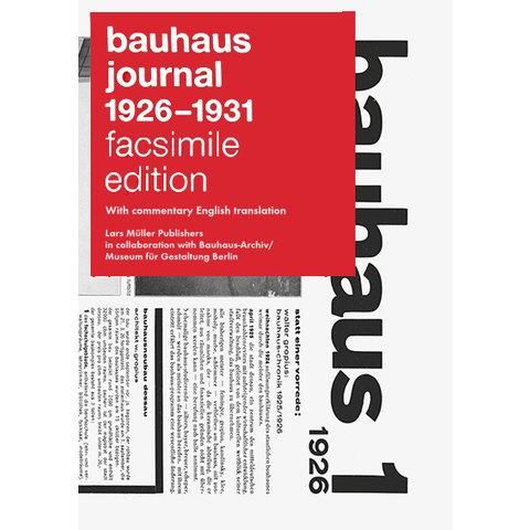 bauhaus zeitschrift reprint | english edition