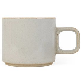 hasami hasami tasse | hellgrau glasiert