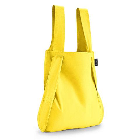 notabag tasche+rucksack | gelb