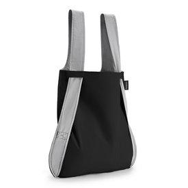 notabag notabag tasche+rucksack | schwarz-grau