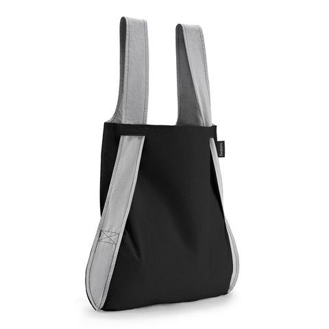 notabag tasche+rucksack | schwarz-grau