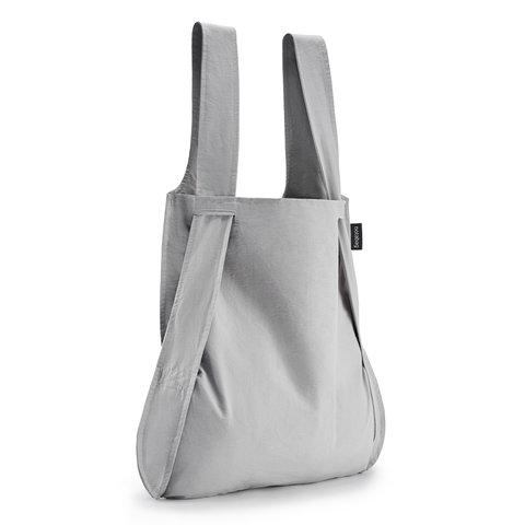 notabag tasche+rucksack | grau