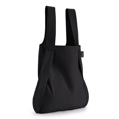 notabag tasche+rucksack   schwarz