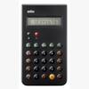 braun bne0001 taschenrechner schwarz