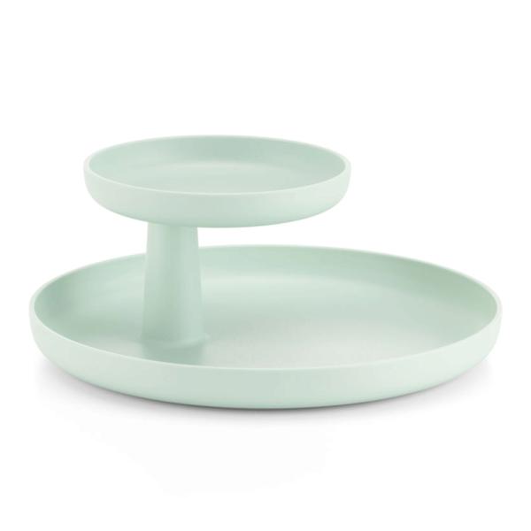 vitra rotary tray | mint green – design jasper morrison