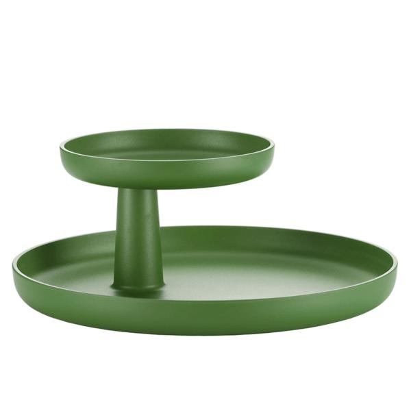 vitra rotary tray | palmgrün – design jasper morrison