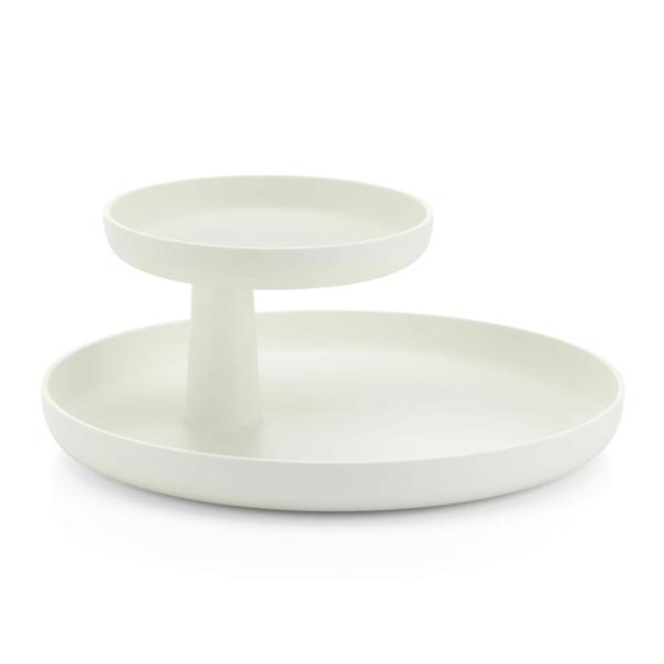 vitra rotary tray | weiß – design jasper morrison