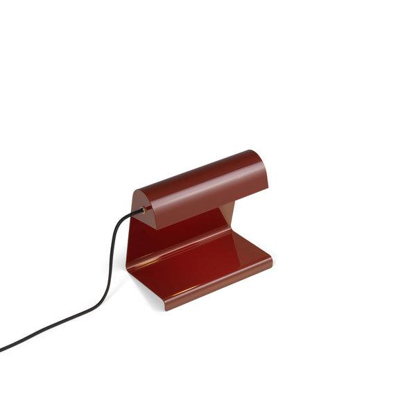 vitra lampe de bureau tischleuchte | japanischrot - design jean prouvé
