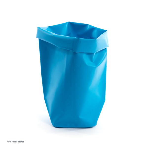 l&z roll-up behälter | 30 l, blau – design michel charlot
