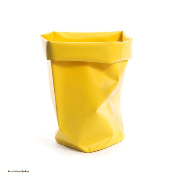 l&z roll-up behälter | 30 l, gelb – design michel charlot