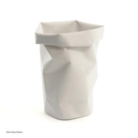 l&z roll-up behälter | 30 l, kalkweiss
