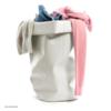 roll-up behälter | 60 l, weiß – design michel charlot