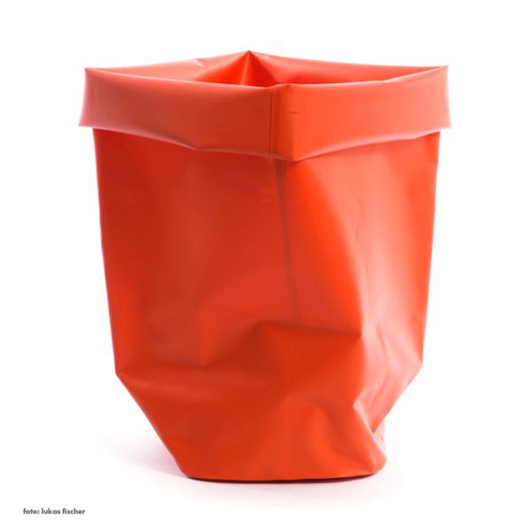 l&z roll-up behälter | 60 l, orange – design michel charlot
