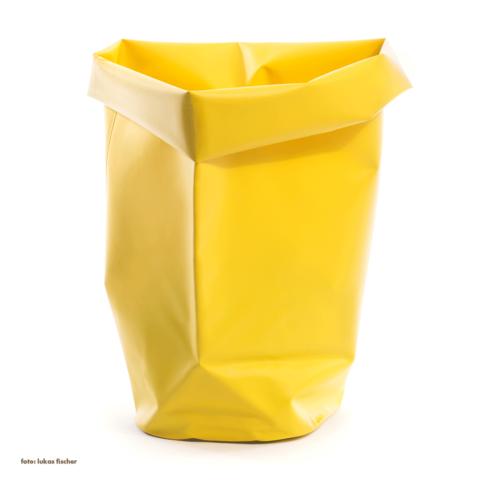 roll-up behälter   60 l, gelb