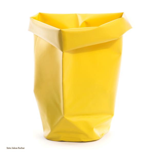 l&z roll-up behälter | 60 l, gelb – design michel charlot