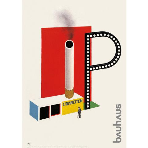 poster: zigarettenkiosk von herbert bayer