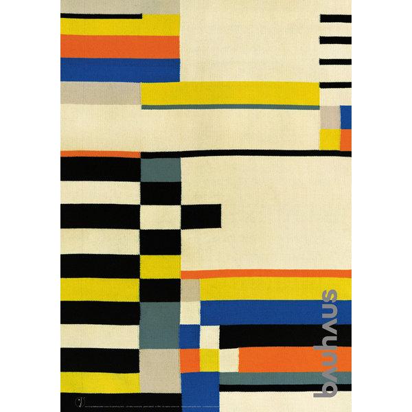 bauhaus-shop poster: wandteppich von ruth hollos-consemüller